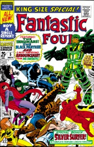 Fantastic Four Annual Five 5