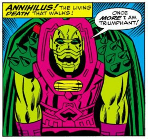 Fantastic Four Annual Number Six 6 Annihilus
