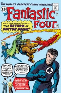 Fantastic Four Issue Ten (10)