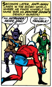 Fantastic Four Issue Sixteen (16) ant-man kirby