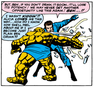 Fantastic Four Issue Twenty-Five 25 Hulk Thing