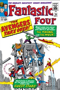 Fantastic Four issue twenty-six 26