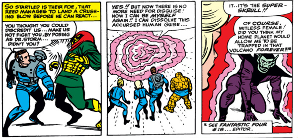 Fantastic Four Issue Thirty-two 32