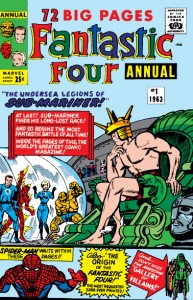 Fantastic Four Annual One (1)