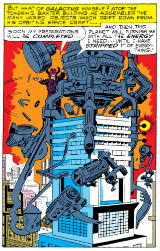 Fantastic Four Issue Forty-Nine 49 Galactus Silver Surfer