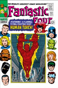 Fantastic Four Issue Fifty-Four 54
