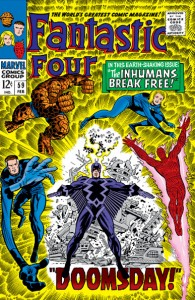 Fantastic Four Issue Fifty-Nine 59