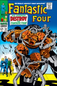 Fantastic Four Issue Sixty-Eight 68