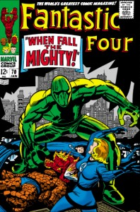 Fantastic Four Issue Seventy 70