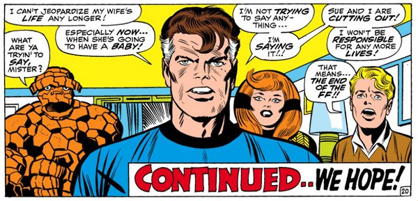 Fantastic Four Issue Seventy-One 71