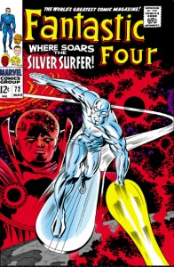Fantastic Four Issue Seventy-Two 72 Silver Surfer