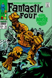 Fantastic Four Issue Seventy-Nine 79
