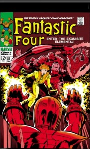 Fantastic Four Issue Eighty-One 81