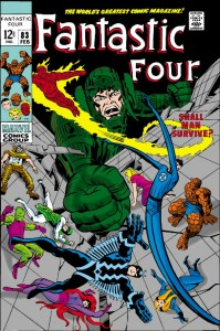 Fantastic Four Issue Eighty-Three 83