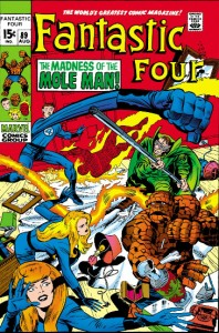 Fantastic four Issue Eight-Nine 89