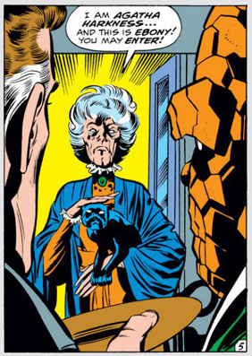 Fantastic Four Issue Ninety-Four 94 Agatha Harkness