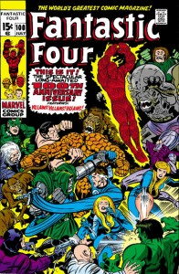 Fantastic Four Issue 100 one hundred