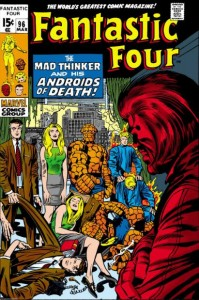 Fantastic Four Issue ninety-six 96 cover