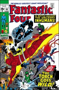 Fantastic Four Issue Ninety-Nine 99 cover