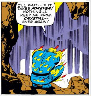 Fantastic Four Issue Ninety-Nine 99 human torch