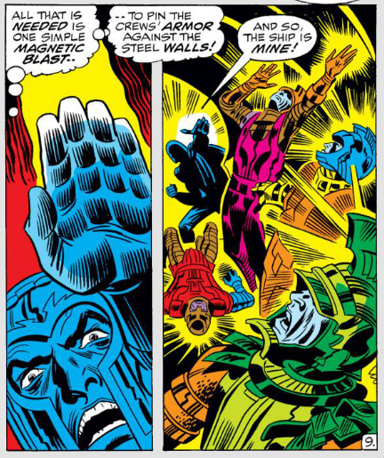 Fantastic Four Issue One Hundred and Three 103 magneto
