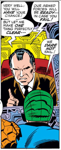 Fantastic Four Issue One Hundred and Three 103 Nixon