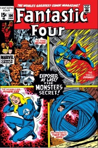 Fantastic Four Issue 106 cover
