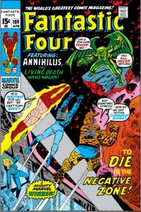 Fantastic Four Issue 109 cover
