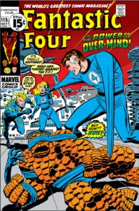 Fantastic Four Issue 115 cover busema