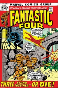 Fantastic Four One Hundred and Nineteen, Feb 1972