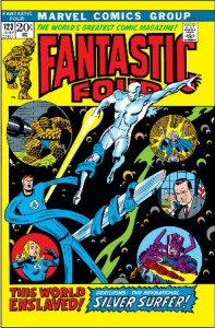 Fantastic Four 123 cover