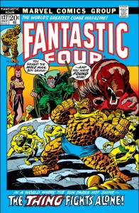 Fantastic Four Issue 127 cover Buscema