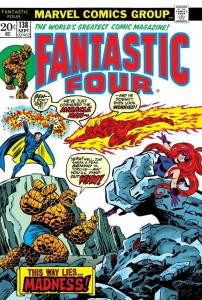 Fantastic Four 138 Cover