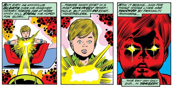 Franklin Richards, the most powerful human on the planet.