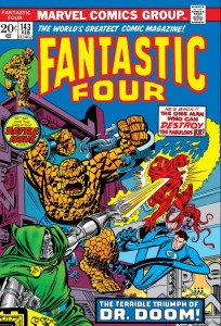 Fantastic Four 143 cover
