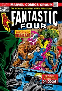 Fantastic Four 144 cover