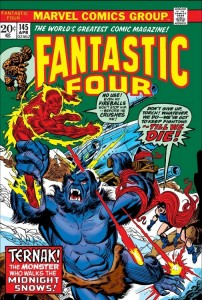 Fantastic Four 145 cover