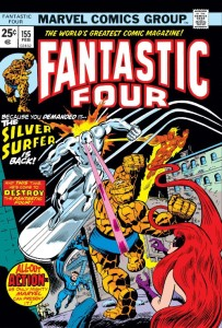 Fantastic Four 155 cover