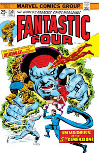 Fantastic Four 158 Cover