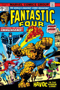 Fantastic Four 159 Cover
