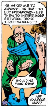 Reed Richards: Scientific genius, shameless hypocrite.