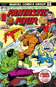 Fantastic Four 166 cover