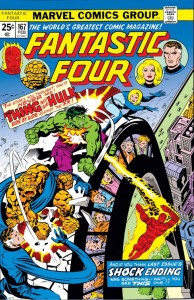 Fantastic Four 167 cover