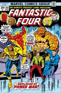 Fantastic Four 168 cover