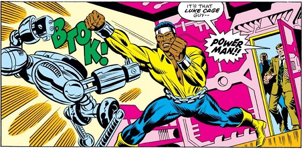 Fantastic Four 168 Power Man