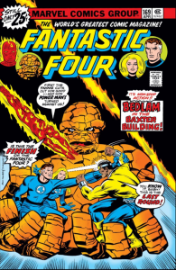 Fantastic Four 169 cover