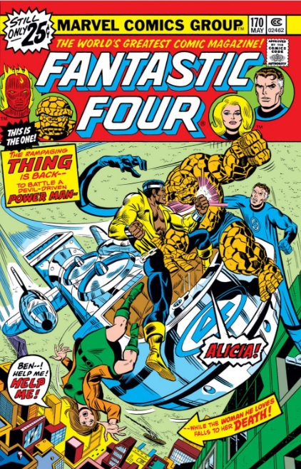 Fantastic Four 170 cover