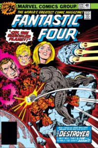 Fantastic Four 172 cover