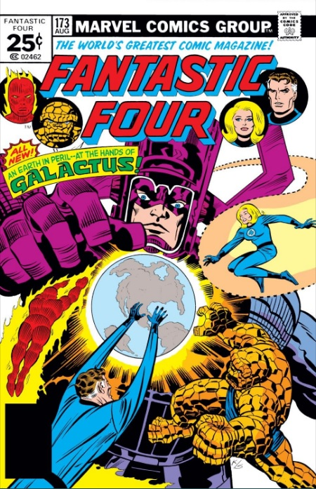 Fantastic Four 173 cover