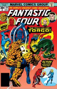 Fantastic Four 174 cover